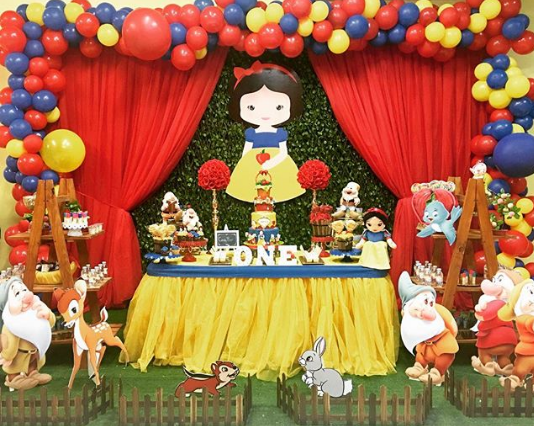 How to decorate the dessert table with balloons