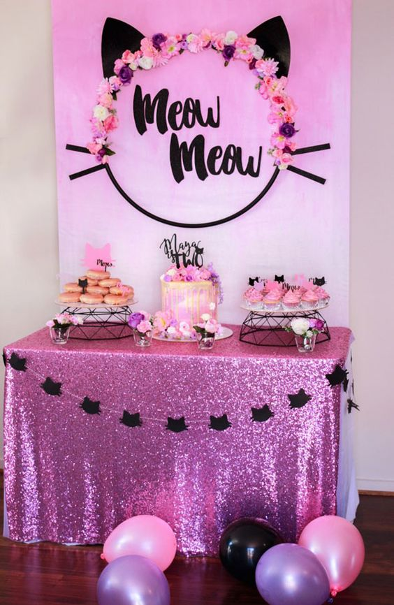 Theme parties for girls