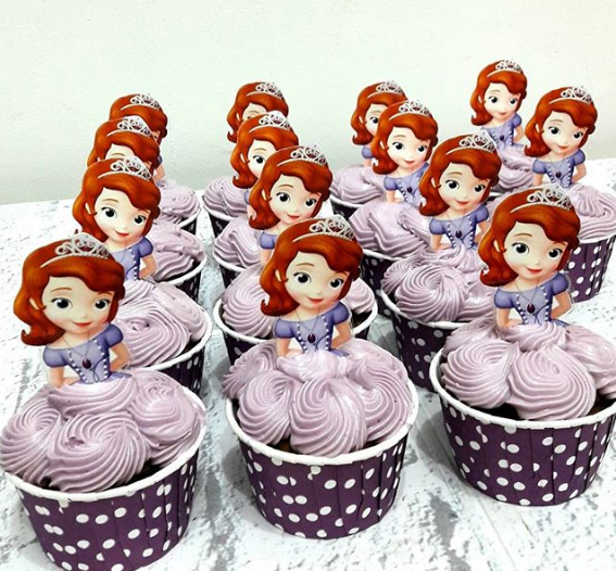 Desserts for Princess Sofia's party