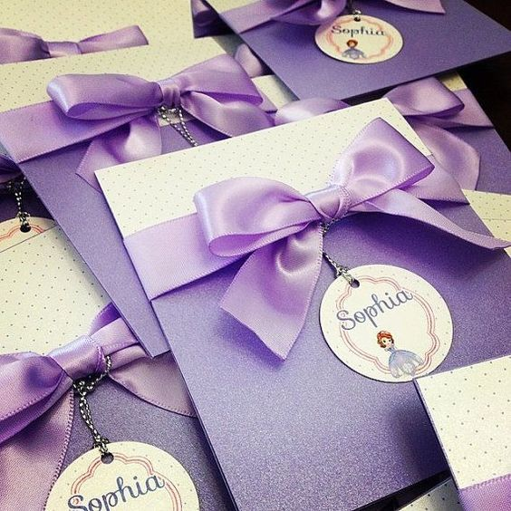 Princess Sofia Invitations Designs