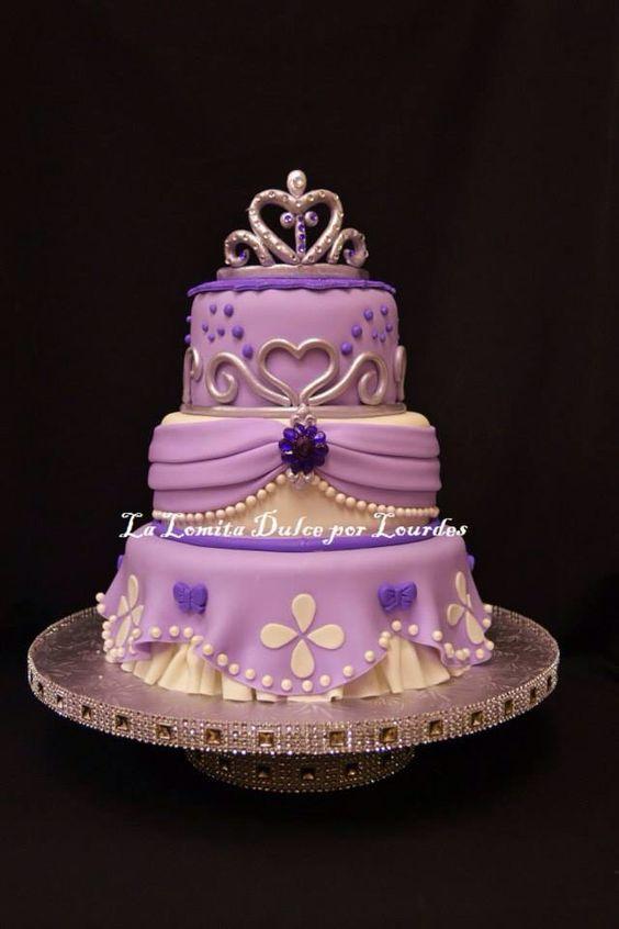 Princess sofia cakes