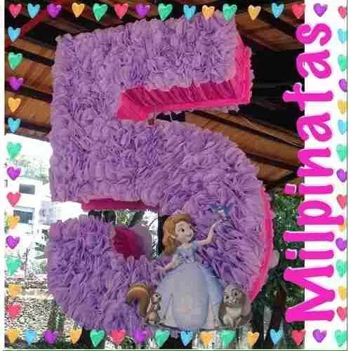 Princess Sofia piñatas