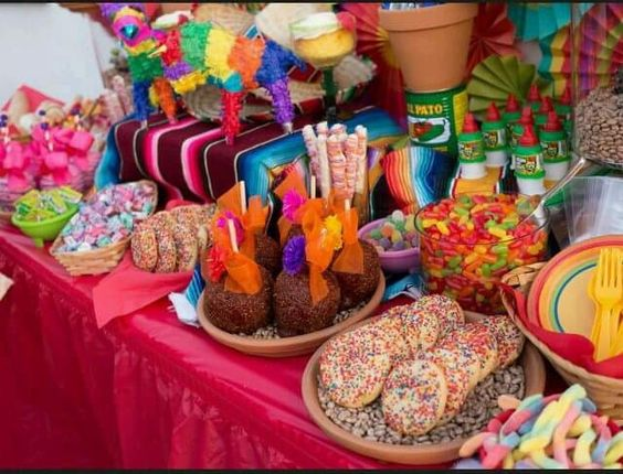 Baby shower Mexican style