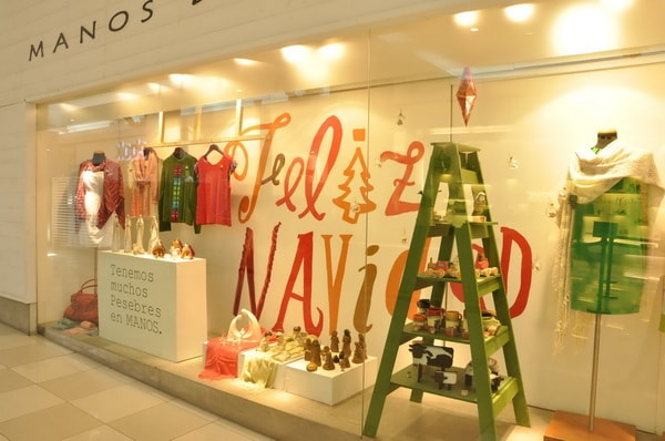 Christmas decoration for commercial stores