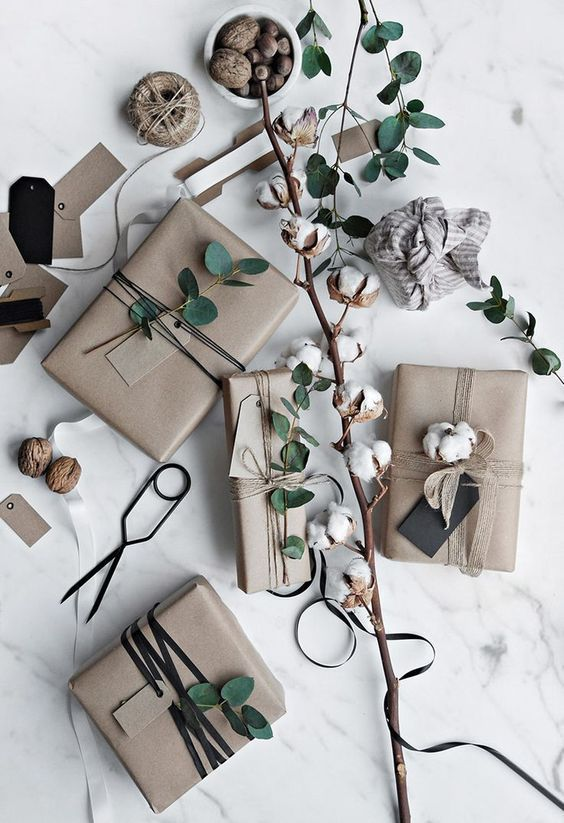 Gift-wrapping in an original way VII