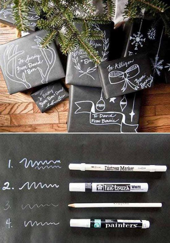 Gift-wrapping in an original way IV