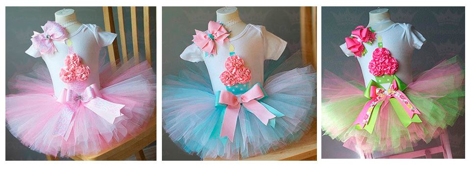 Tutus for cupcake theme parties