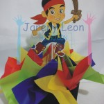 Party decorations by Jake and the pirates