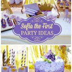 Decoration of the Princess Sofia's party