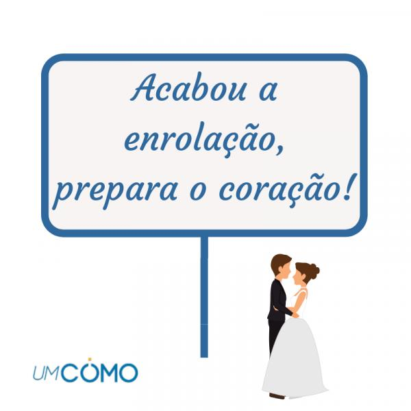 How to make fun plaquinhas + phrases - Plaquinhas divertidas para casamento