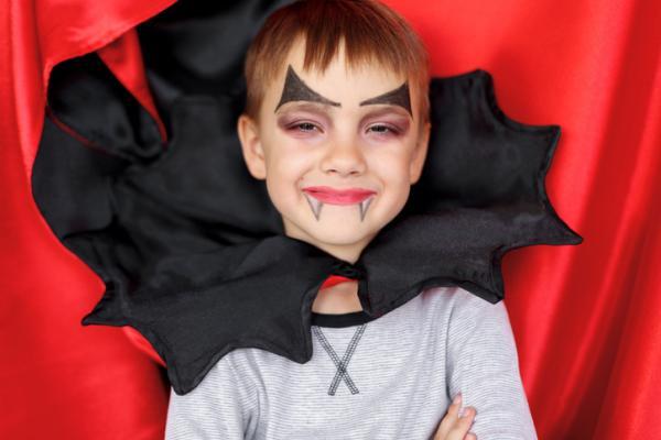 Como fazer uma fantasia de vampiro - Childhood Male Vampire Fantasy