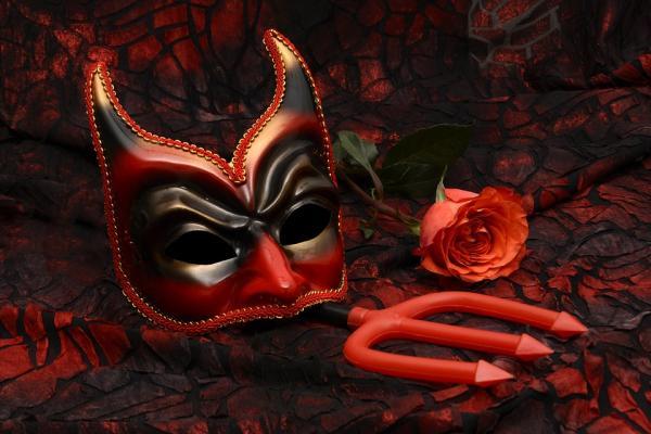 Como fazer uma fantasia de diabinha - How to make a devil's trident