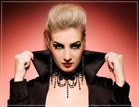 Como fazer uma fantasia de vampira - Hair for vampire fantasy