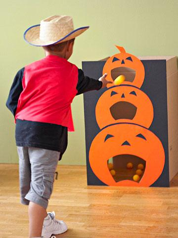 Como fazer brincadeiras de Halloween - Halloween brincadeiras: boca da abóbora