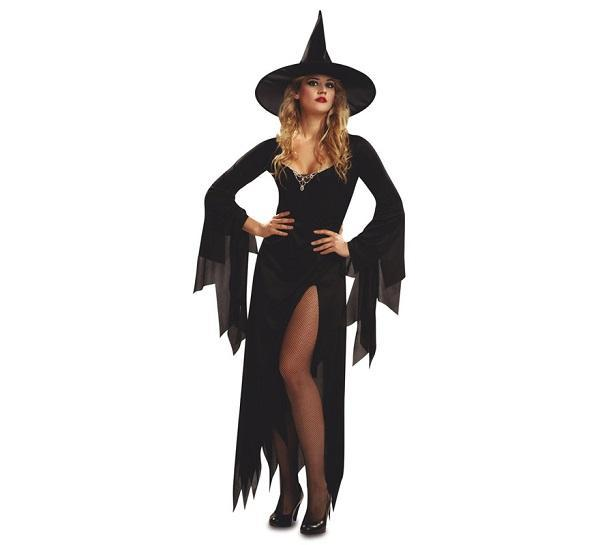 Como fazer uma fantasia de bruxa - How to make a witch's fantasy with roupas normais