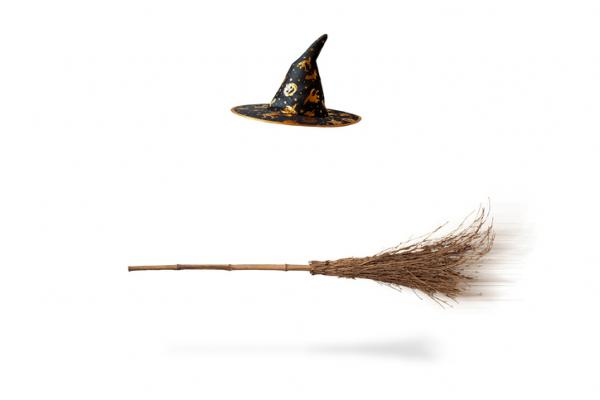 Como fazer uma fantasia de bruxa - Vassoura de bruxa