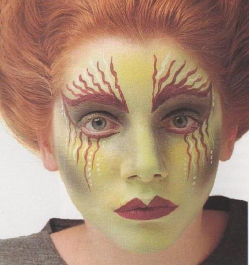 Como fazer uma fantasia de bruxa - Maquiagem de bruxa