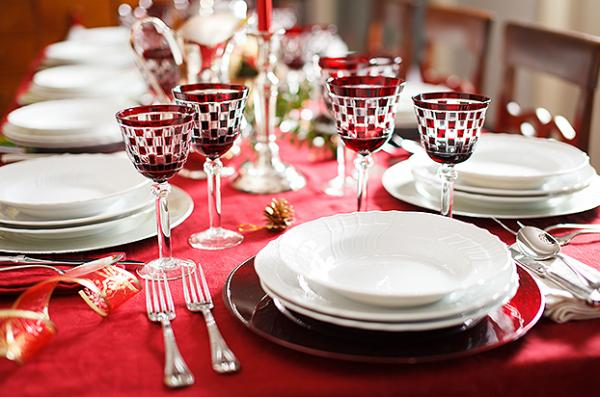 How to decorate a table for Natal - Step 3