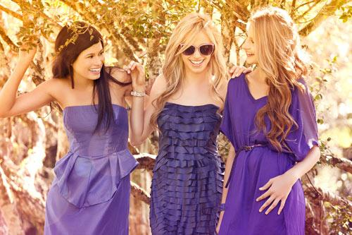 What to wear in the new year - Violet or lilac