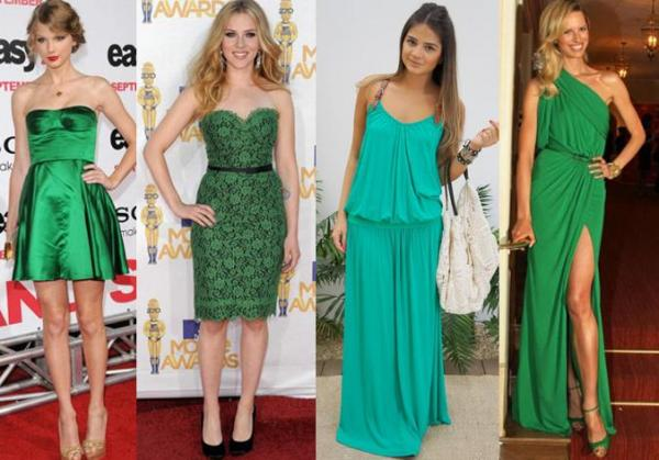 What to wear not ano novo - Green