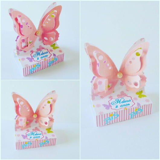 butterfly favors with bis box