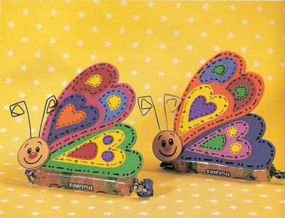 butterfly souvenirs with jujube