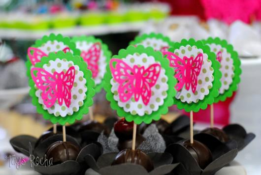 butterfly souvenirs with candy