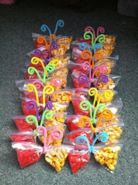 very simple butterfly favors