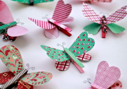 butterfly favors with catcher