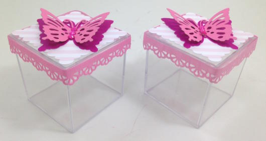 butterfly souvenirs with resin box