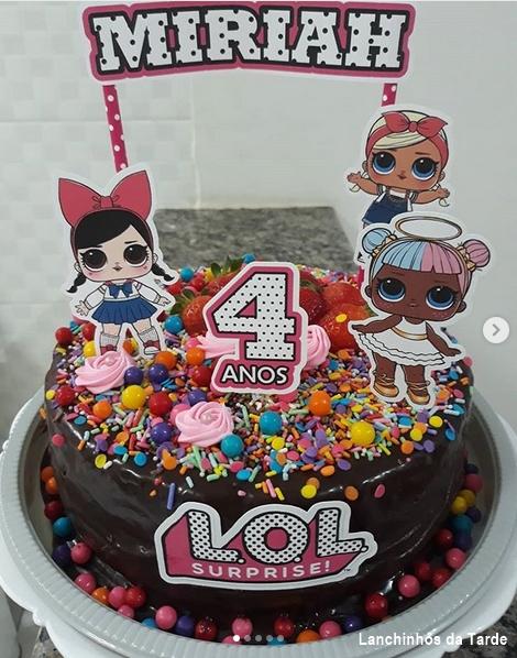 brigadeiro cake with sprinkles