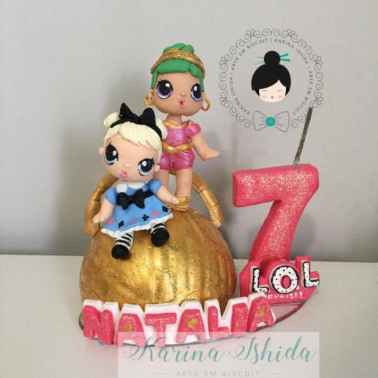 cake topper with name