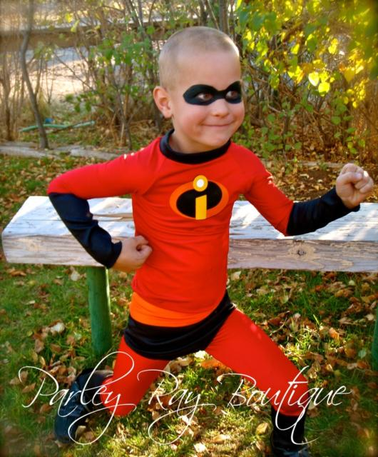 Children love the Incredibles movie and will love playing a movie character for a day