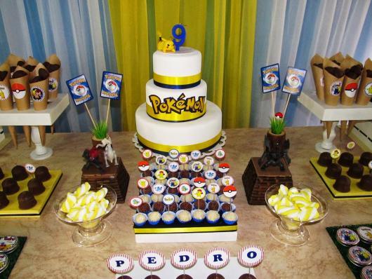 cake tip Pokémon party