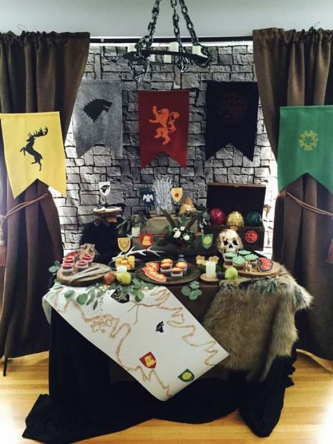party ideas game of thrones