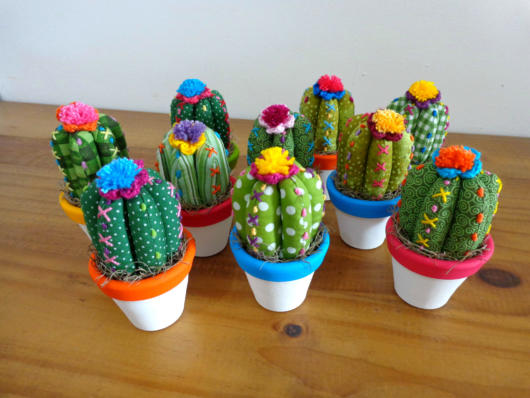 Beautiful colorful versions to delight your cactus party
