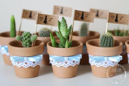 Cactus pots are the best souvenir options for this party