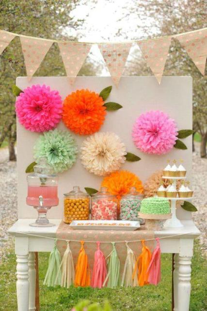 Flower Theme Party