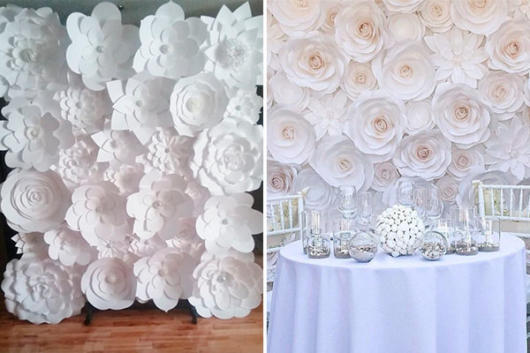 White Flowers Themed Party
