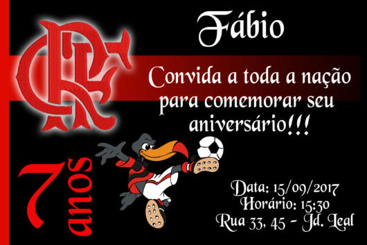Flamengo's invitation to a party of 7 years