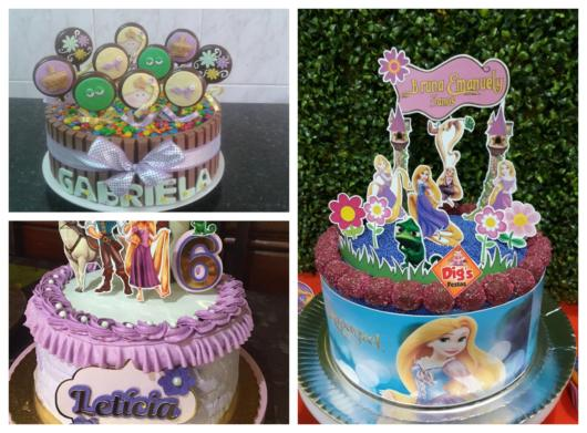 Stay on top of various ideas about Rapunzel's cake