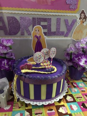 Rapunzel EVA fake cake