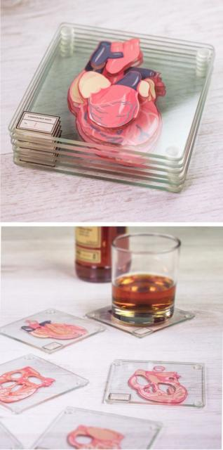 This themed cup holder will please doctors who love to drink, as well as those who are completing career years