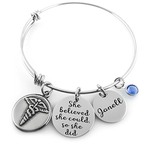 Personalized necklace and accessories are always successful and please any gift recipient