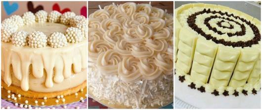 white chocolate cake ideas