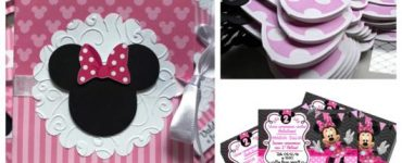 Minnie invitations can be used for birthdays and baby showers