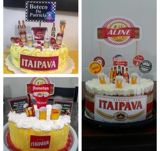 60 beautiful cake inspirations from Itaipava to spice up your party!