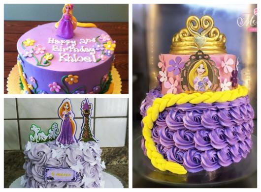 Rapunzel cakes have been in high demand