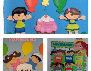 30 wonderful ideas for creating a stunning EVA birthday panel!