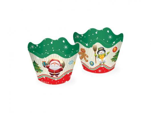 Christmas Cupcake Snowman Cupcake